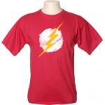 Camiseta Flash Desgastada