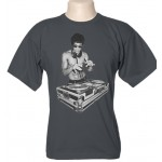 Camiseta Bruce Lee DJ