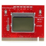 Placa Diagnostico Pc Analyzer com Visor Lcd Debug Pc