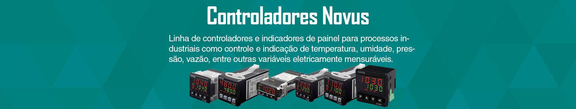 Controlador de Temperatura e Controlador de Processos.