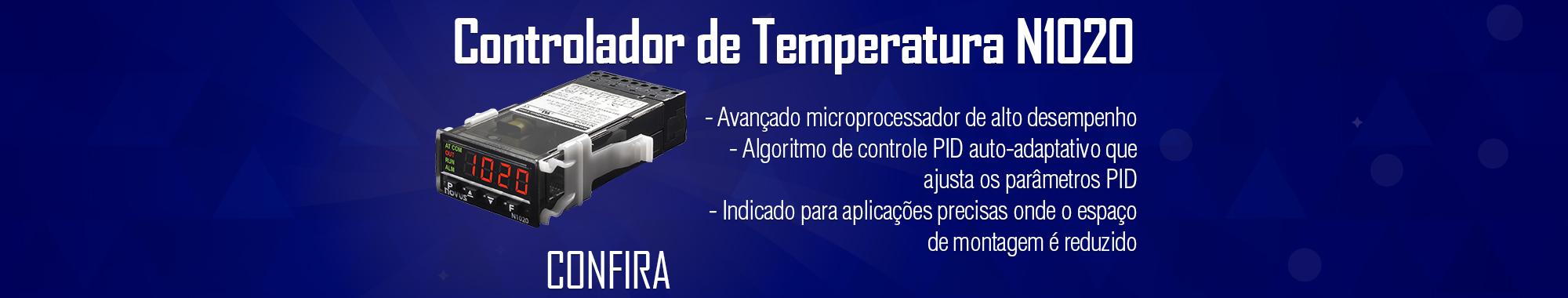 Controlador de Temperatura Novus