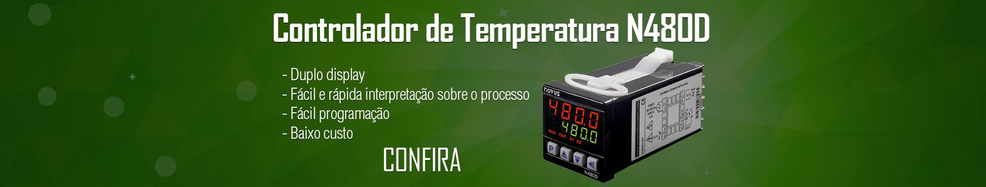 Controlador Temperatura Novus