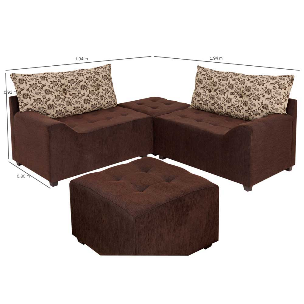 293349 sof s de canto 1 sof s de canto para decorar for Sofa cama pequeno conforama