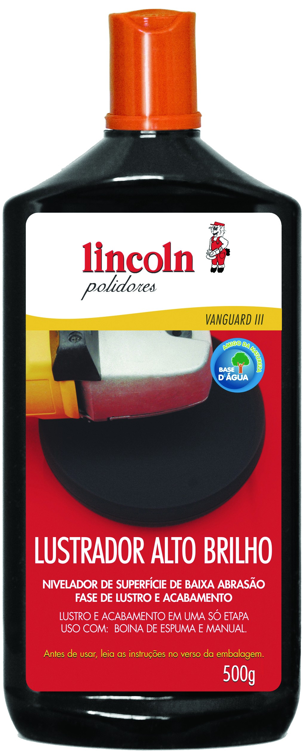 Lustrador Alto Brilho 2x1 500ml - Lincoln