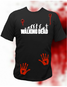 CAMISETA THE WALKING DAD MÃOS