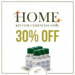 Kit Casa com 6 Essências de 100ml