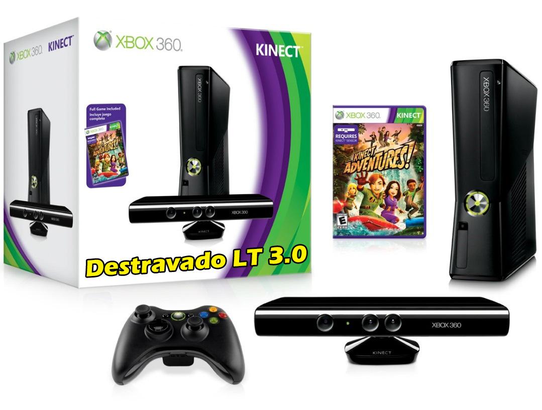 Xbox gb kinect destravamento lt