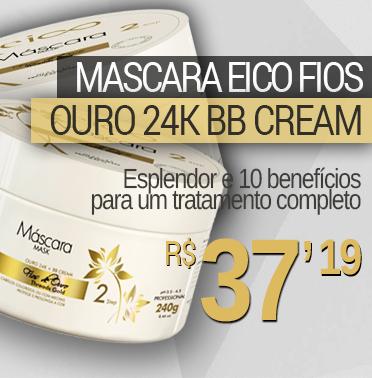 MASCARA EICO FIOS DE OURO BB CREAM 24K