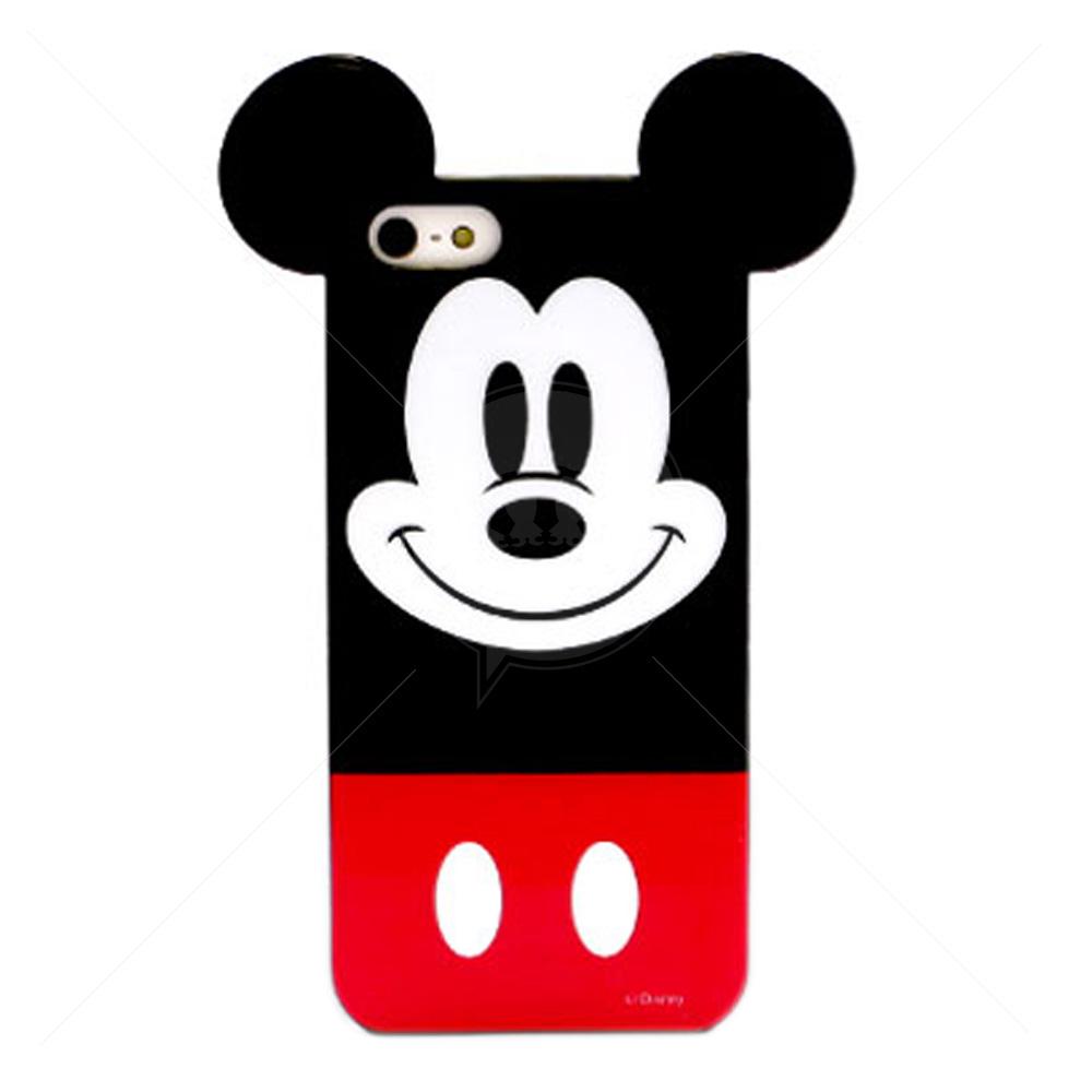 Para Iphone 5 5s Mickey Orelhinha P3635on Capa De Silicone Para Iphone ...