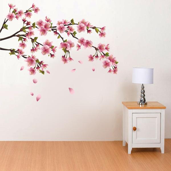 Artesanato Para Cozinha Em Tecido ~ Adesivo de Parede Flor de Cerejeira Sakura Fran Adesivos Fran Adesivos