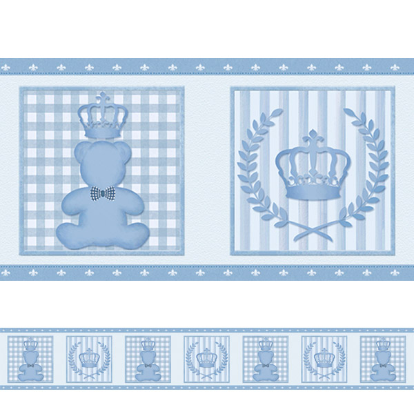 Faixa Para Quarto De Bebe De Ursinho ~ Adesivo decorativo Faixa Ursinho Principe  Fran Adesivos