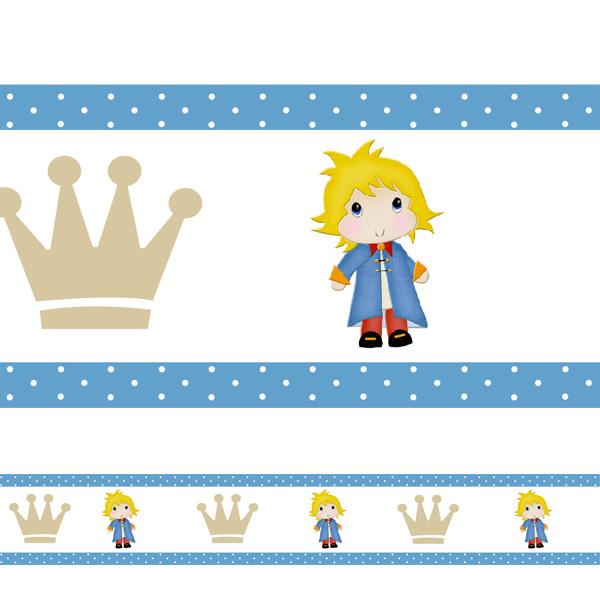 Armario De Cozinha Em Ingles ~ Adesivo decorativo faixa Pequeno Principe 2