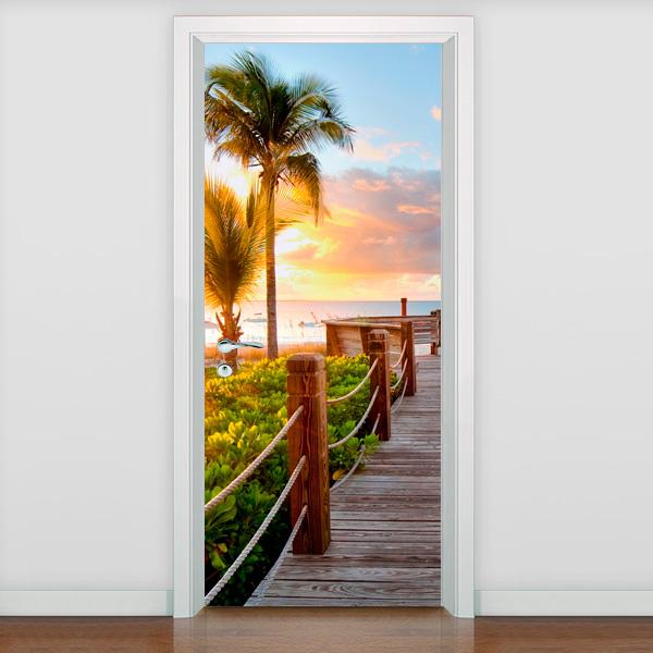 Adesivo decorativo para porta passarela 4 fran adesivos for Adesivos p porta de vidro
