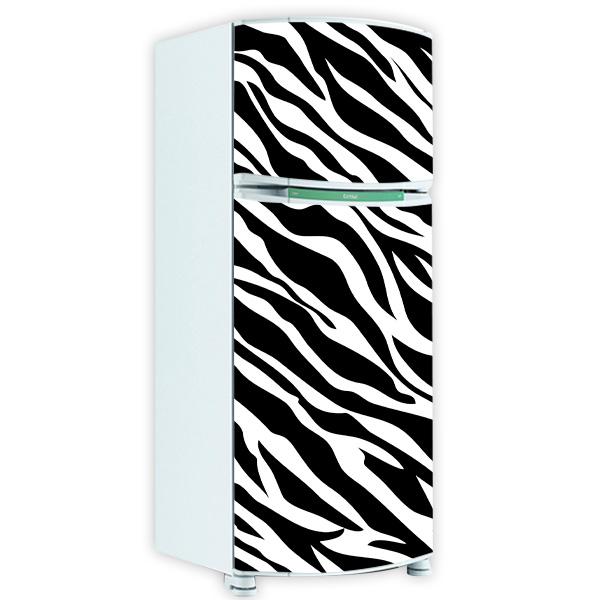 Telefone Loja Artesanato Barros ~ adesivo para geladeira inteira envelopar pele de zebra zebrado jpg