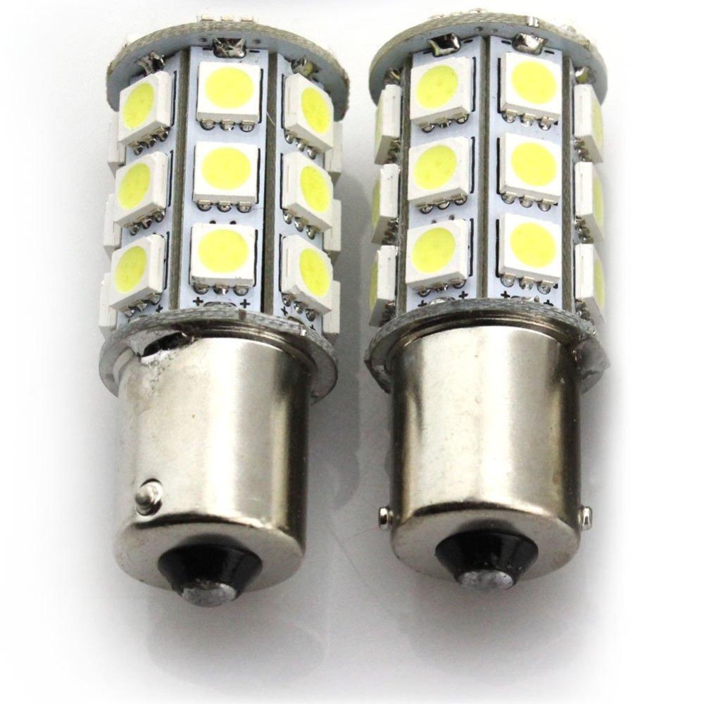 Lâmpada de 21 LEDs SMD 5050 para freio, seta, ré e ...