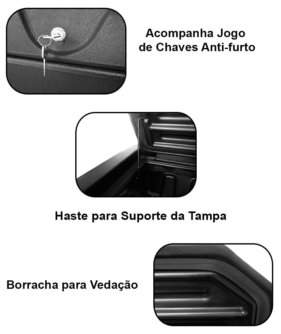 Caixa Multibox Trunk Baú Pickups Montana Strada Saveiro